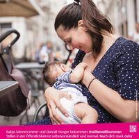Plakat Kampagne des Akteursnetzwerk Gesund ins Leben e.V. www.gesund-ins-leben.de
