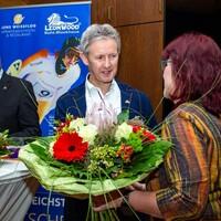 Die Gastgeber des LIDOs bedanken sich bei Jens Weißflog (Foto: LéonWood®, Ariane Dietrich) (Bild: 3/6)