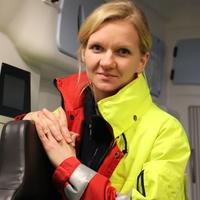 Cindy Märten, Notfallsanitäterin