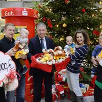 Spendenübergabe zum Nikolaustag in der Sparkasse Niederlausitz (Bild: 2/2)