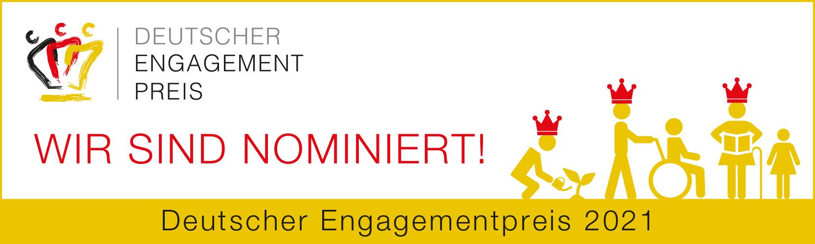 Deutscher Engagementpreis 2021